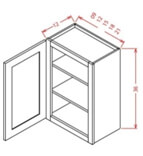 36 HEIGHT WALL CABINETS-1 Door