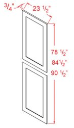 Tall Decorative Door End Panels