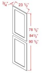 Tall Decorative Door End Panels