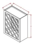 Wall Wine Rack Cabinet-C24