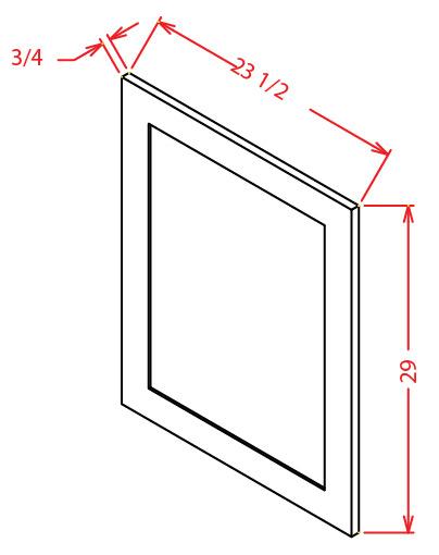 Base Decorative Door End Panel